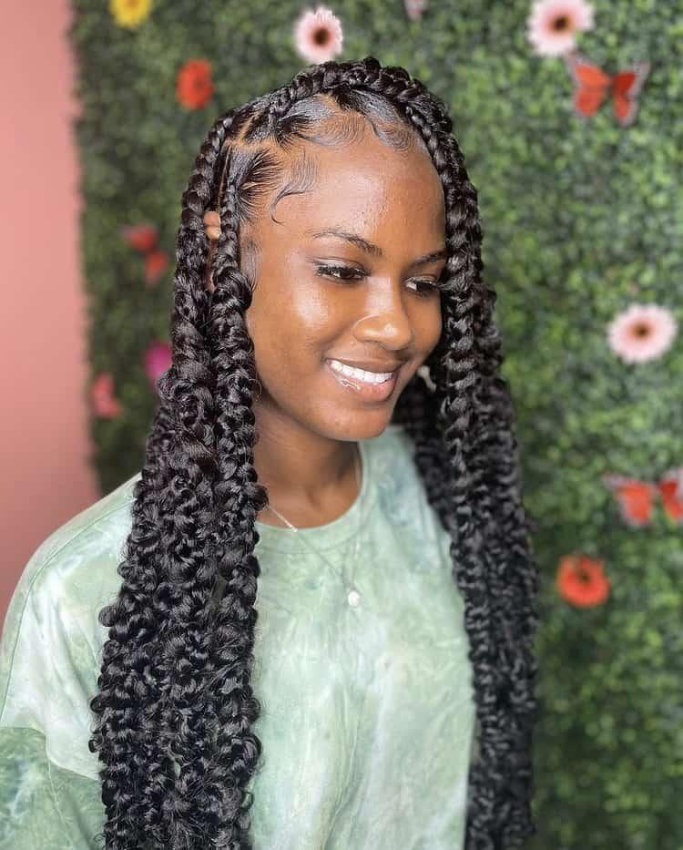 medium passon braids